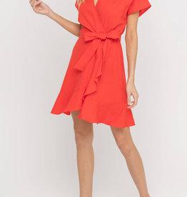 Linen Belted Dress