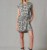 Leopard Slouchy T-Shirt Dress