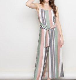 Stripe Culotte Jumper