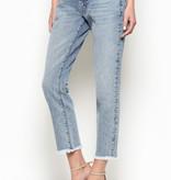 Mid Rise Boyfriend Jeans