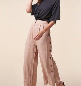 Button Side Pants