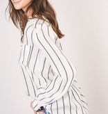Relaxed Striped Blouse