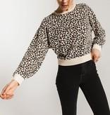 Brushed Leopard Pullover