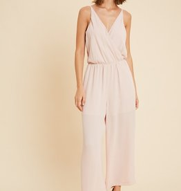 Blousy V-Neck Jumpsuit