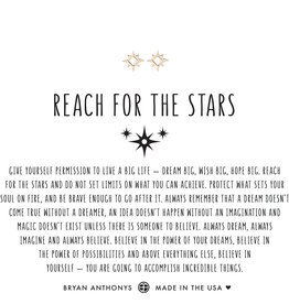 Reach for the Stars Earrings Gold