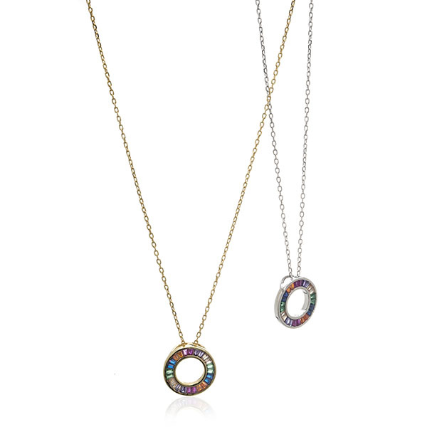 Anuja Open Sphere Necklace