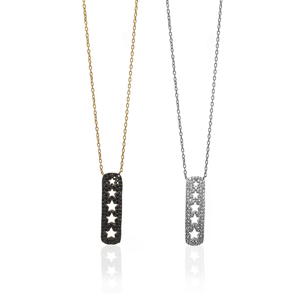 Anuja Twinkle Stars Necklace