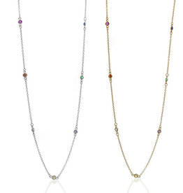 Anuja Rainbow Yard Necklace
