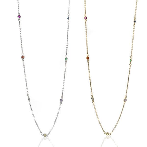 Anuja Rainbow Yard Necklace