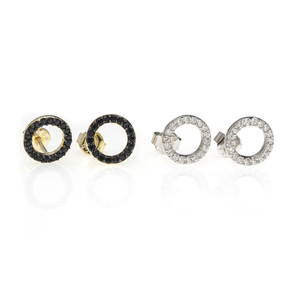 Anuja Open Circle Earrings