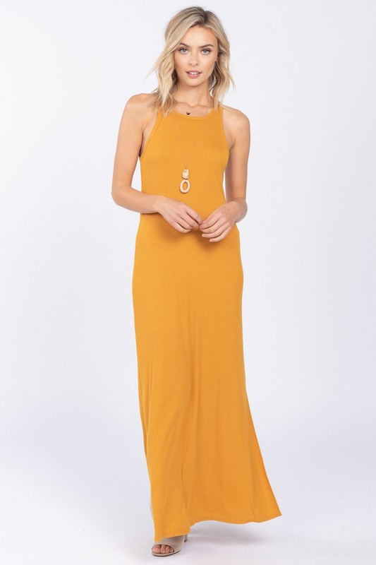 Everly Solid Knit Maxi Dress