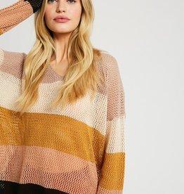 Wishlist Lightweight Stripe Sweater