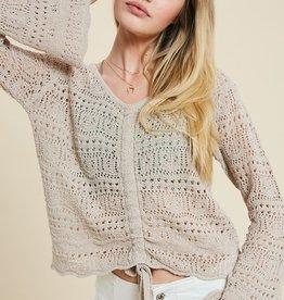 Wishlist Ruched Detail Sweater
