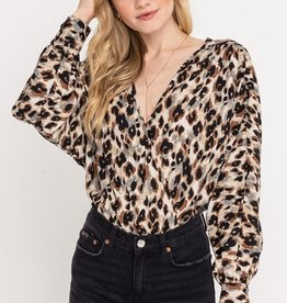 Lush Leopard L/S Bodysuit