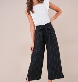 SugarLips Pin Stripe Culotte Pants