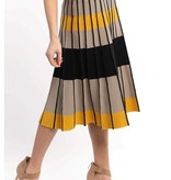Skies are blue Pleated Sweater Skirt