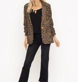 Lush Corduroy Leopard Blazer