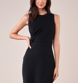 SugarLips Side Knot Ribbed Dress