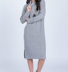 Everly Side Slit Sweater Dress