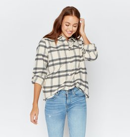 Thread and Supply Drexel Plaid Top