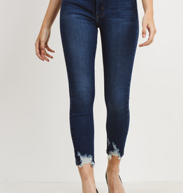 Just Black Denim Skinny Hem Bite Jeans