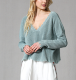 Fate Washed Distressed Sweater
