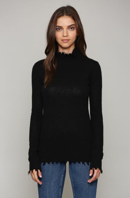 Fate Distressed Cashmere Sweater