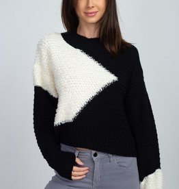 Dreamers Fuzzy Detail Sweater