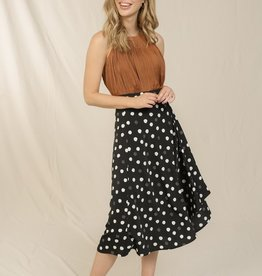 Skies are blue Spot On Skirt