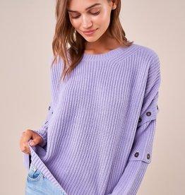 SugarLips Tessa Button Sweater