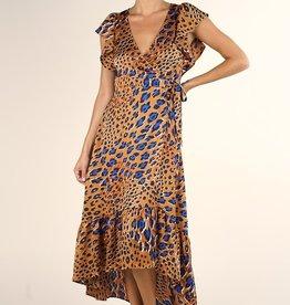 Lovestitch Leopard Wrap Maxi