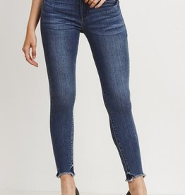 Just Black Denim Hi-Low Hem Skinny
