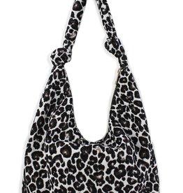 Street Level Leopard Hobo Bag