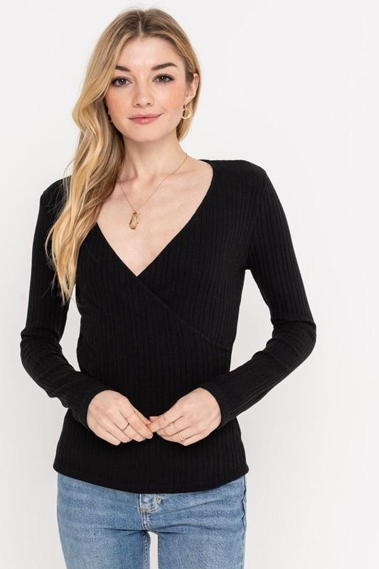 Cross Over Sweater