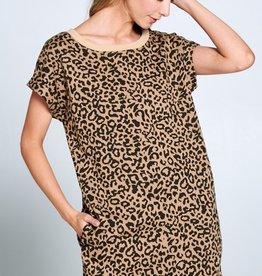 Ellison Lazy Leopard Dress