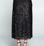 Ellison Sequin Midi Skirt