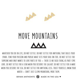 Bryan Anthonys Move Mountains Earrings