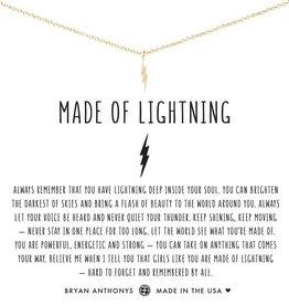 Bryan Anthonys Made of Lightning Necklace