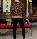THML Fuzzy Cheetah Sweater