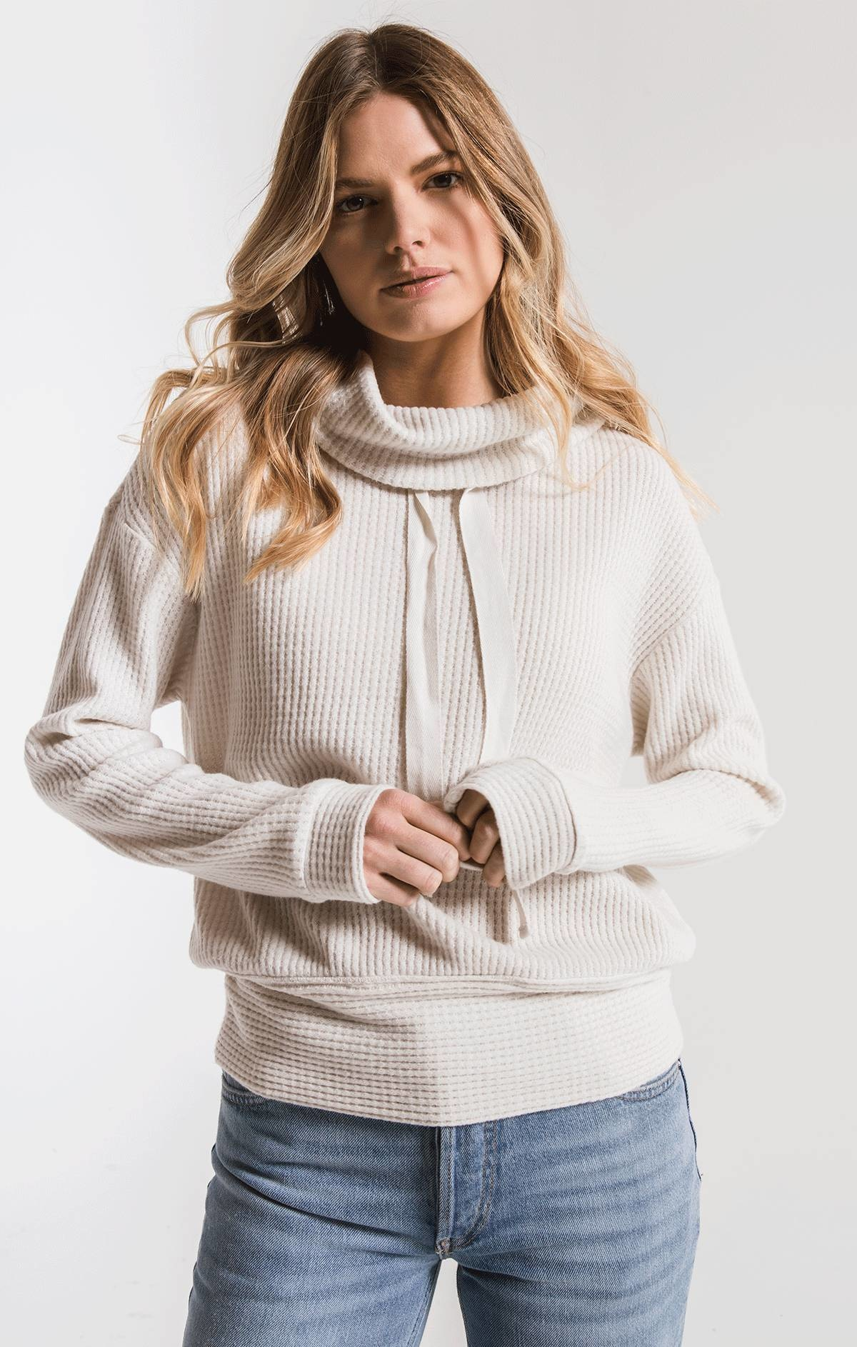 Z Supply Cowl Neck Thermal Top