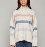 Fate Over Sized Stripe Sweater