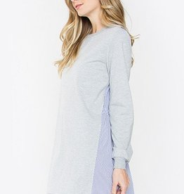 Two Tone Shirt Dress