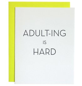 Adult-ing Is Hard Card