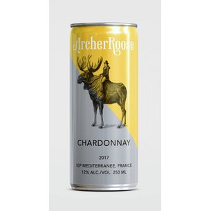 Archer Roose Archer Roose Chardonnay Cans (250ml x 4pack), France