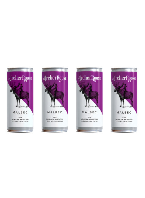 Archer Roose Archer Roose Malbec Cans (250ml x 4pack), France