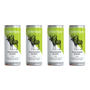 Archer Roose Archer Roose Sauvignon Blanc Cans (250ml x 4pack), Chile