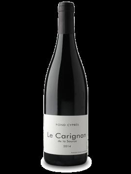 Domaine Fond Cypres 2016 Le Carignan de la Source, France