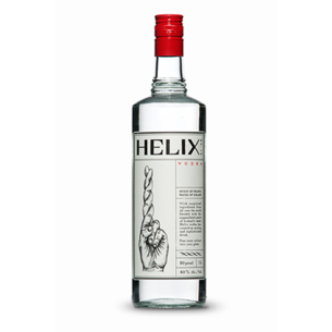 Helix Helix Spirits 80 Proof Vodka, Liter