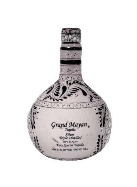 Grand Mayan Grand Mayan 3D Silver Tequila, Mexico