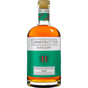 Tommyrotter Distillery Tommyrotter Cask Strength Bourbon Barrel Gin, NY